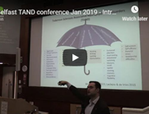 Watch presentation from belfast TAND conference 2019